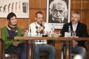 Împreună cu jurnalistul Sorina Bota și fotograful Jakab Tibor