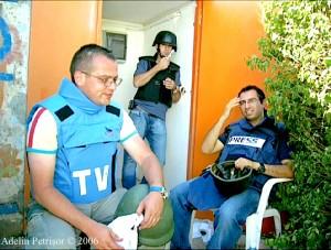 La granița dintre Israel și Liban, iulie 2006