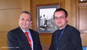 După interviul cu Ehud Barak, ianuarie 2006