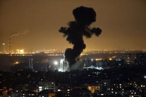 PALESTINIAN-ISRAEL-CONFLICT-GAZA-ATTACK